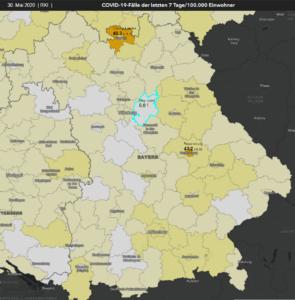 30. Mai | RKI-Karte | Bayern